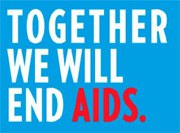Together we will end AIDS - Bild