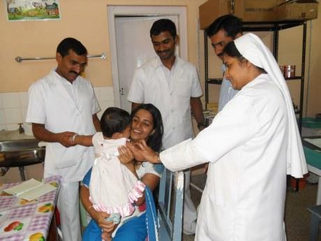 Gesundheitsversorgung für HIV-positive und verletzliche Kinder