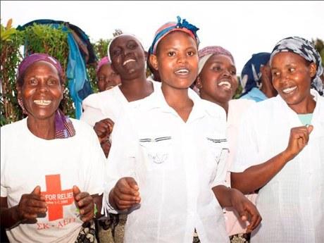 Selbstverteidigung für junge Afrikanerinnen