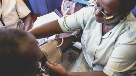 High Prevalence and Incidence of Hypertension among Africans Living with HIV