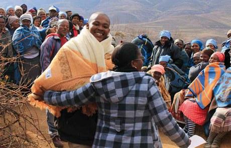 Doppelte Epidemie durch Tuberkulose und HIV in Lesotho