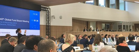 40. Global Fund Board Meeting in Genf