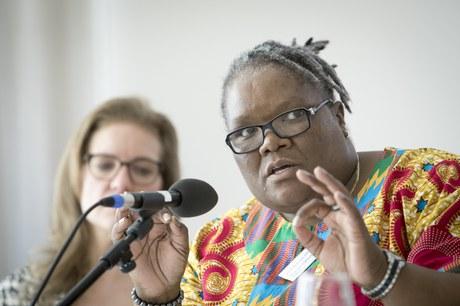 Reverend Phumzile Mabizela - INERELA+ positive faith in action, South Africa
