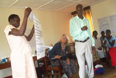 aidsfocus.ch workshop in Uganda: Memory work creates hope