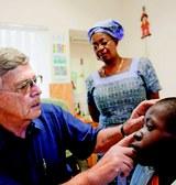 Aidspionier als Retter in Afrika
