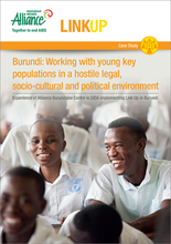Burundi: Working with young key populations