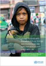 HIV and adolescents: Guidance for HIV testing and counselling and care for adolescents living with HIV (Guidance document)