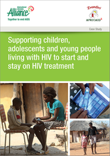 Supporting children, adolescents and young people living with HIV to start and stay on HIV treatment