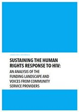 Sustaining the human rights response to HIV