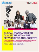 WHO/UNAIDS launch new standards to improve adolescent care