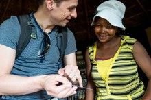 Januar 2017 - Thema des Monats: Lesotho: Dank Forschungspartnerschaft näher an den UNAIDS Zielen - Niklaus Labhardt (Swiss TPH, SolidarMed) im Interview
