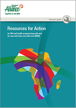 Resources for Action for HIV and health programming with and for MSM