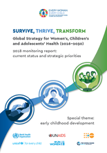 Survive, Thrive, Transform - Global Strategy for Women's, Children's and Adolescents' Health (2016-2030)