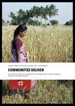 The critical role of communities in reaching global targets to end the AIDS epidemic