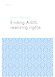 Ending AIDS, realizing rights