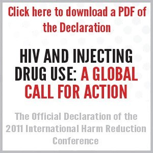 HIV and Injecting Drug Use: A Global Call for Action